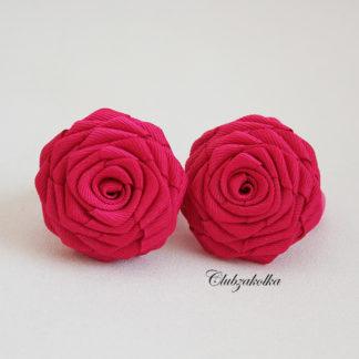 clubzakolka.ru Резинки для волос Розы цвета фуксии