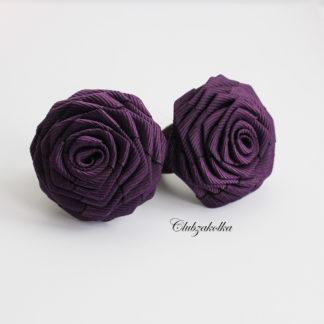 clubzakolka.ru Резинки для волос розы фиолетовые