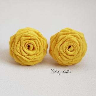 clubzakolka.ru Резинки для волос Розы желтые