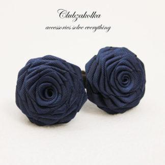 clubzakolka.ru Розы тёмно-синие на резинках