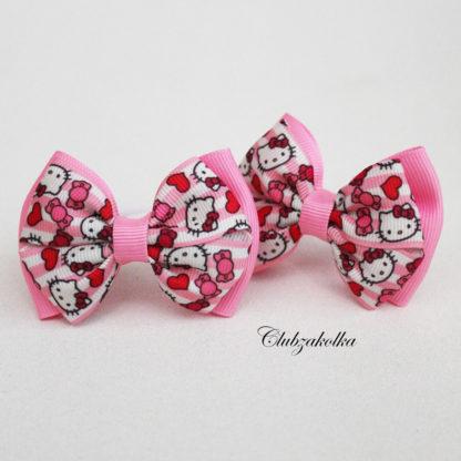 clubzakolka.ru Резинки для волос Банты классические Hello Kitty