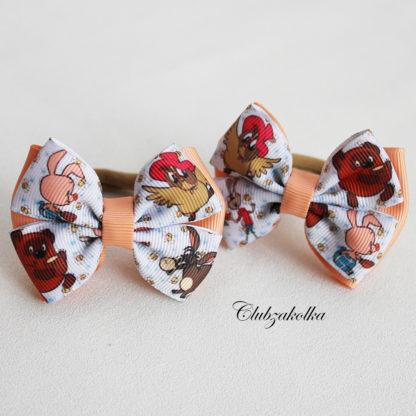 clubzakolka.ru Резинки для волос Банты классические Винни Пух