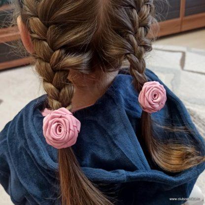Пудрово-розовые розы. Размер S. Фото покупателей
