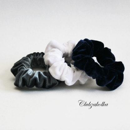 Набор бархатных резинок для волос Скранчи — в интернет-магазине Clubzakolka