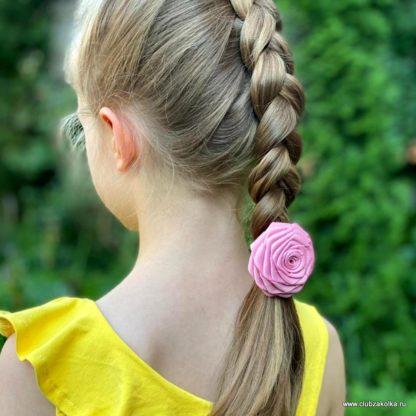 Пудрово-розовая роза Размер L. Фото покупателей